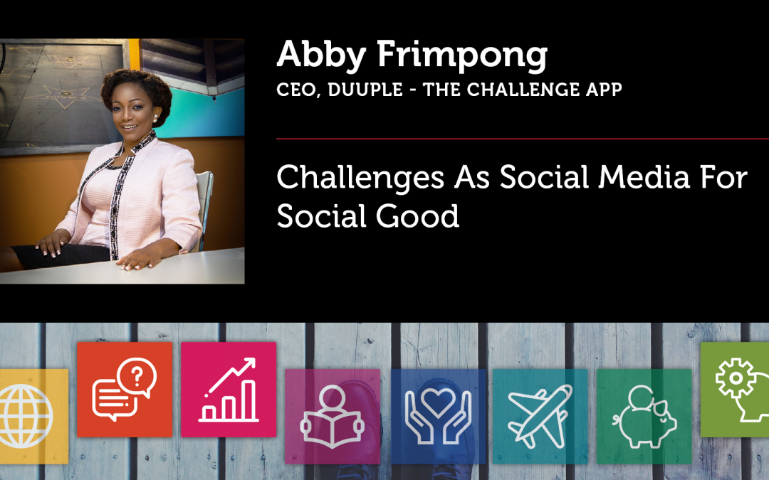 Challenges As Social Media For Social Good