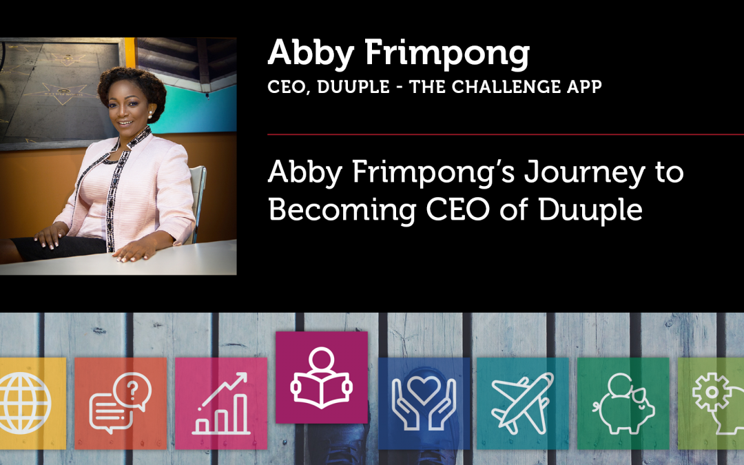 Abby Frimpong's Journey to Becoming CEO of Duuple