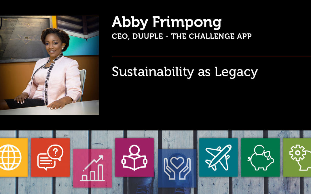 Sustainability as Legacy