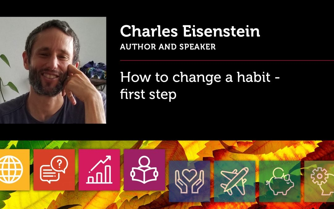 How to change a habit – first step