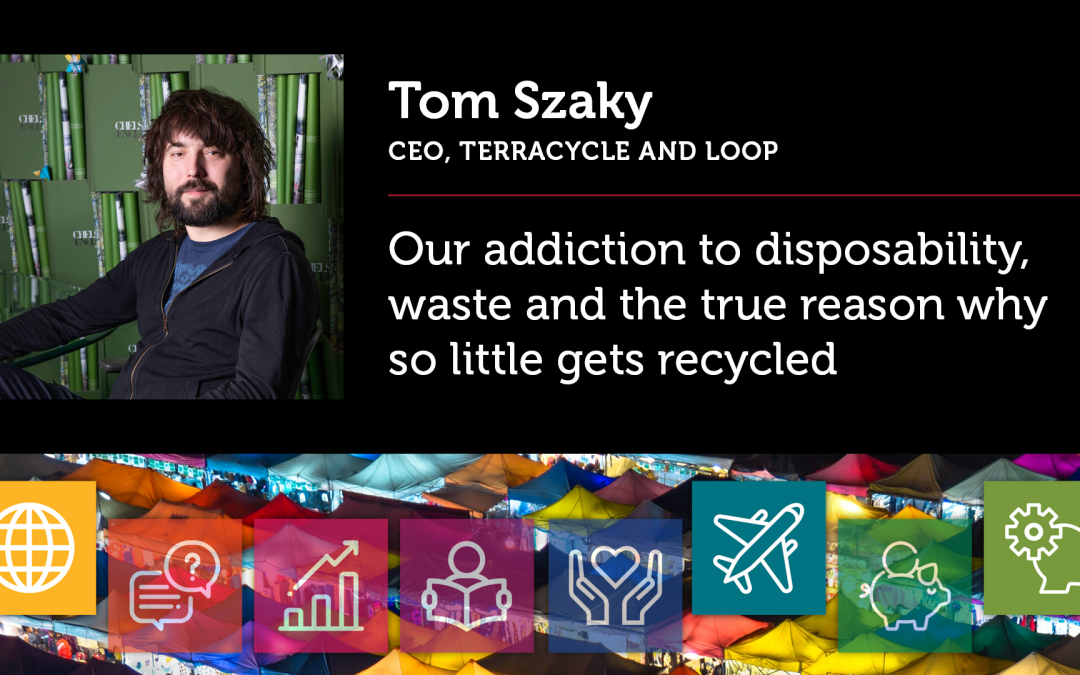 Our adiction to disposability, waste and the true reason why so little gets recycled