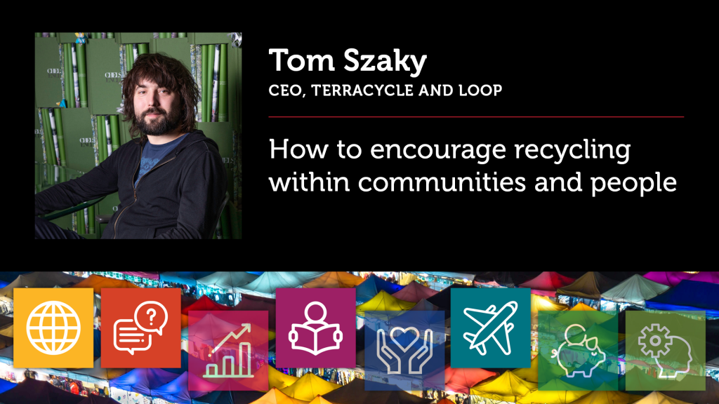 How to encourage recycling within communities and people