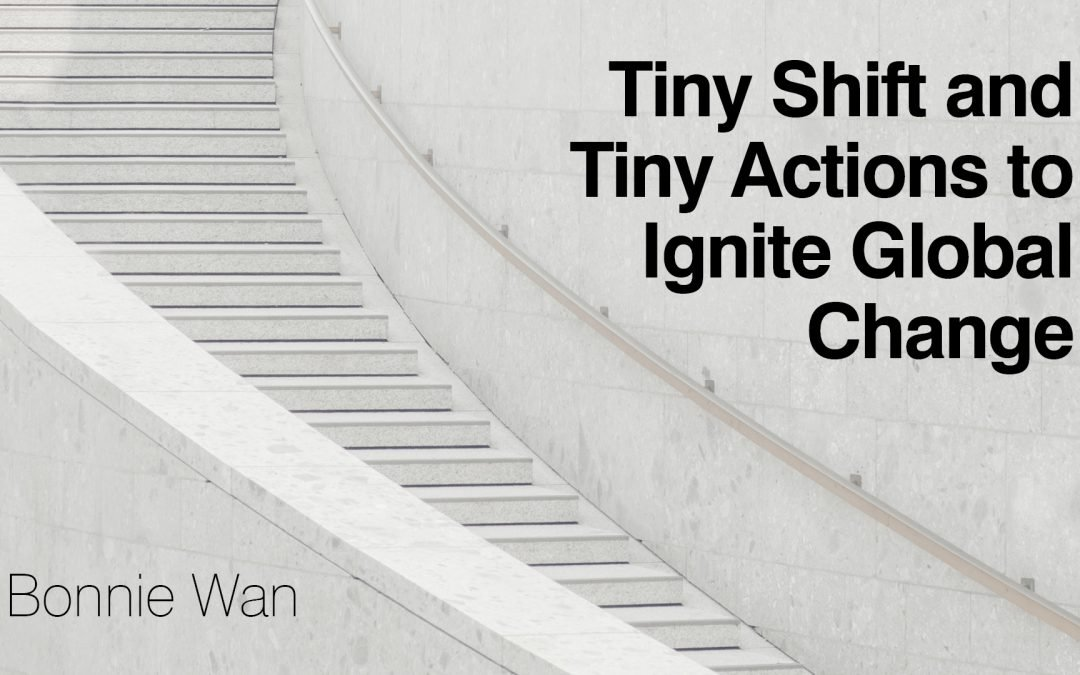How tiny shifts can be marked by tiny actions