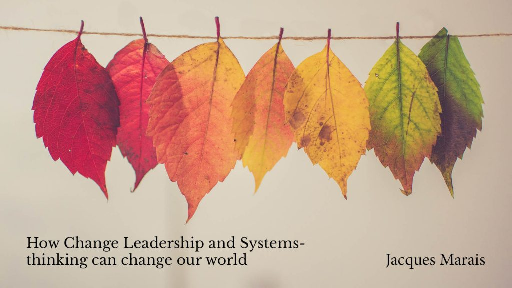 How Change Leadership and Systems-thinking can change our world