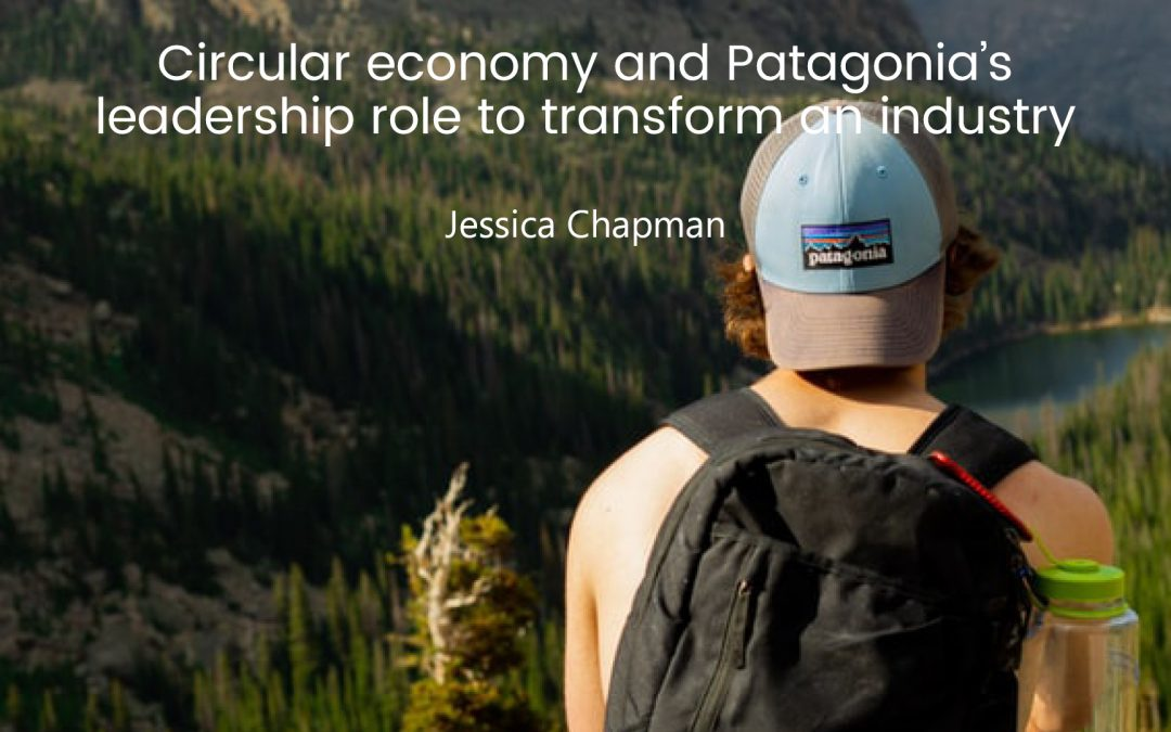 Circular economy and Patagonia's leadership role to transform an industry